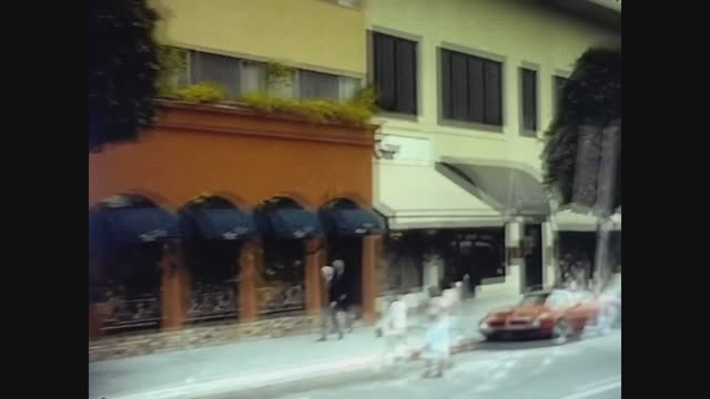 Los Angeles, USA 1979, Los Angeles street view 7