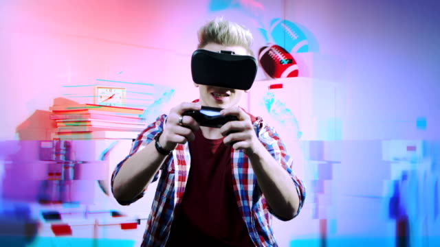 Lost in Virtual reality game video