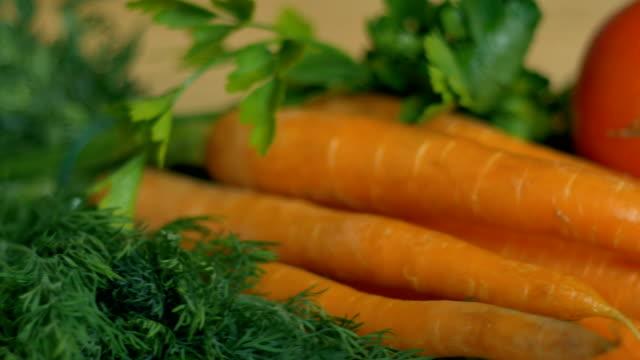 stockvideo's en b-roll-footage met veel groenten op tafel - venkel