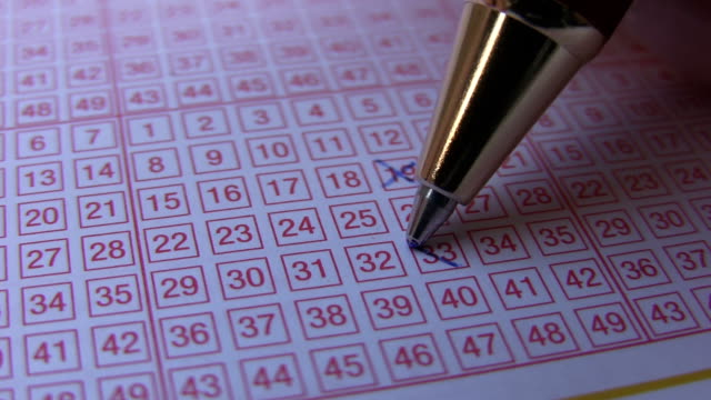lotterie - lotto stock-videos und b-roll-filmmaterial