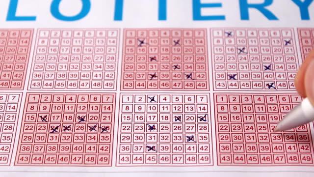 lottery (hd) - lotteri bildbanksvideor och videomaterial från bakom kulisserna