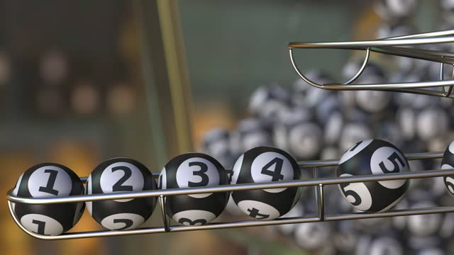 Lotto balls make up number 1 2 3 4 5 6 sequence