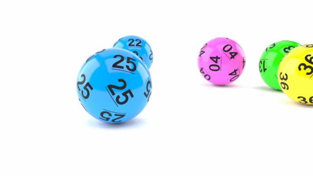Bolas de lotería - vídeo