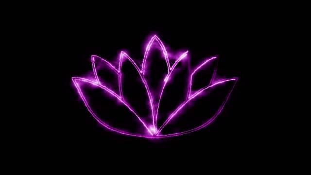 vídeos de stock, filmes e b-roll de símbolo do lótus - lotus