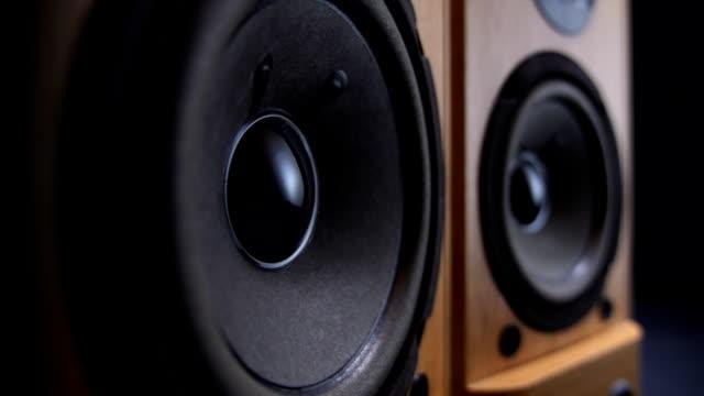 loudspeaker driver - speaker bildbanksvideor och videomaterial från bakom kulisserna