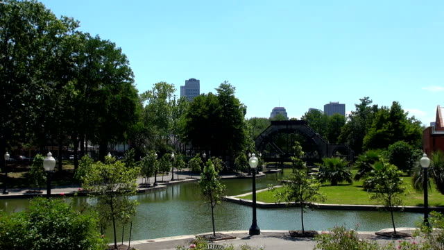 Louis Armstrong Park - New Orleans, Louisiana video