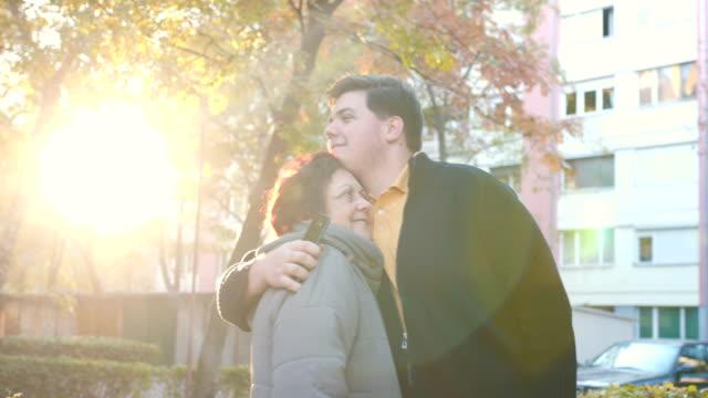 Love between grandmother and grandsoon video