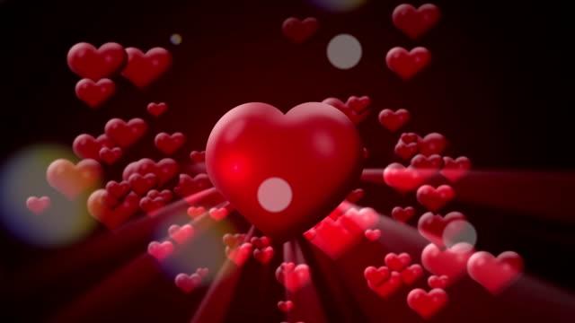 love hearts video