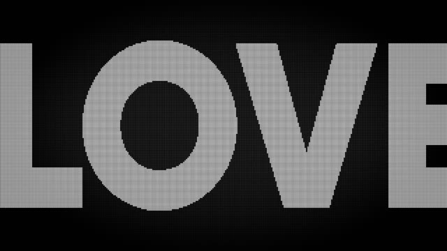 Love Led Screen
