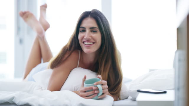 i love mornings - pajamas stock videos & royalty-free footage