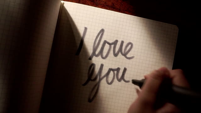 Love you note   RO video