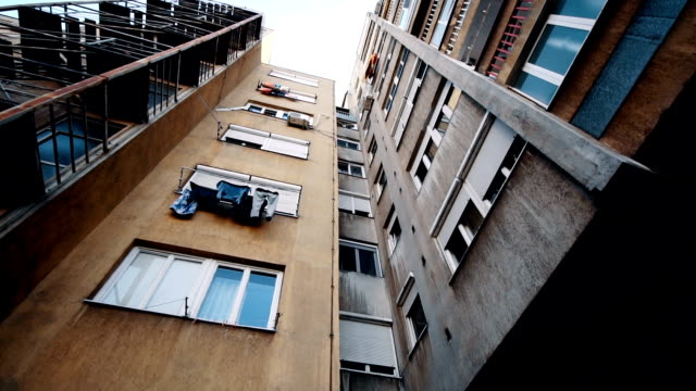 Low angle view of buildings video