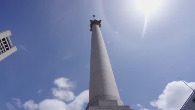 Low angle view of George Dewey monument
