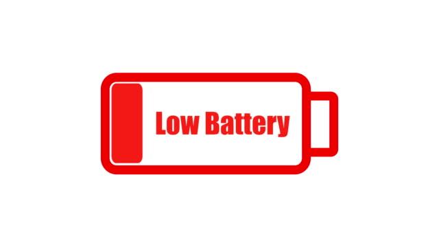 schwache batterie 1 - niedrig stock-videos und b-roll-filmmaterial