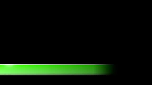 vidéos et rushes de lower troisième nouvelle entreprise troisième l3rd vert pur - abaisser