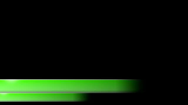 vidéos et rushes de lower troisième actualités de l'entreprise verte l3rd deux tiers - abaisser