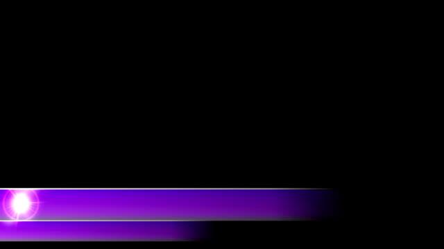 vidéos et rushes de lower troisième actualités les deux tiers l3rd violet - abaisser