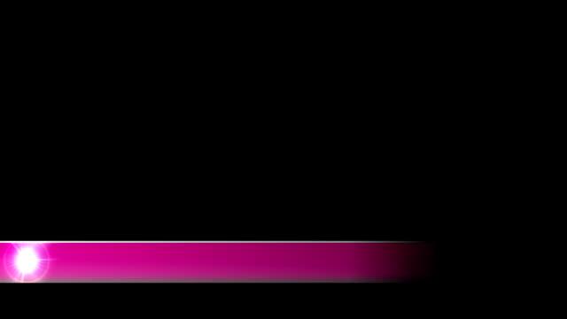 vidéos et rushes de lower troisième nouvelle entreprise troisième l3rd rose - abaisser