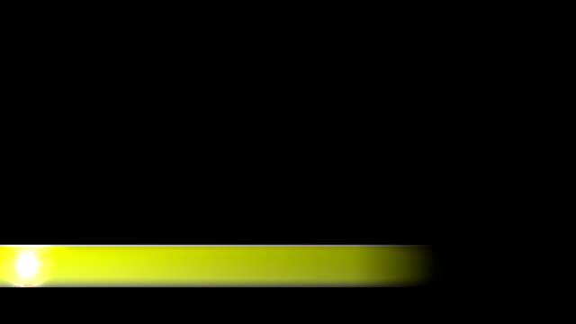 vidéos et rushes de lower troisième nouvelle entreprise troisième l3rd jaune - abaisser