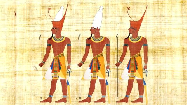 lower egypt upper egypt and all egypt pharaohs - египет стоковые видео и кадры b-roll