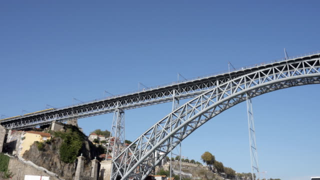 Luis I bridge view from River Douro Cruise