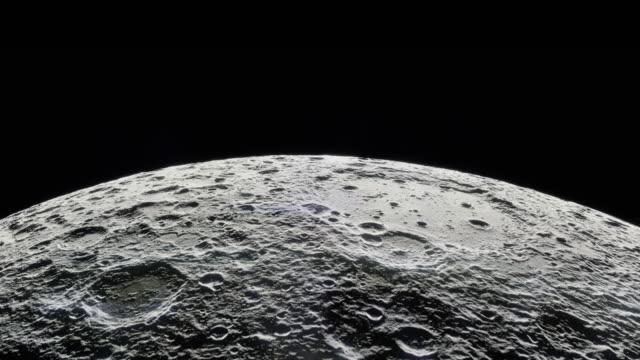 lunar orbit - mond stock-videos und b-roll-filmmaterial