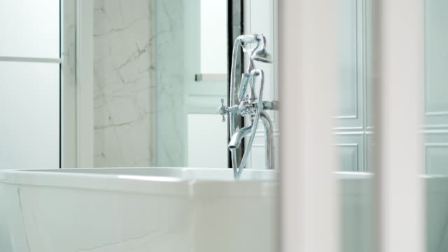 Luxury bathroom in the french style in the house.Modern Bathroom interior.Affordable Homes – Interiors and Exteriors