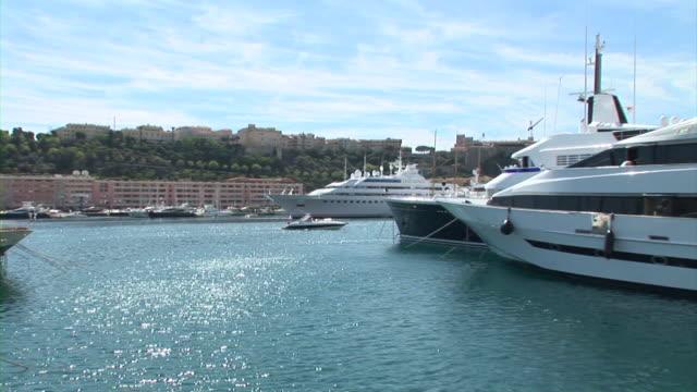 HD: Luxury boats in Monaco video