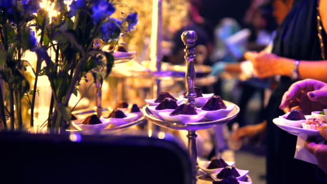 Luxury Catering Food Elegance event stock videos & royalty-free footage