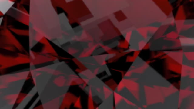 高級宝石輝くルビーのループ。色とりどりの万華鏡のシームレスなループ背景。光沢のある貴石を回転します。 ビデオ