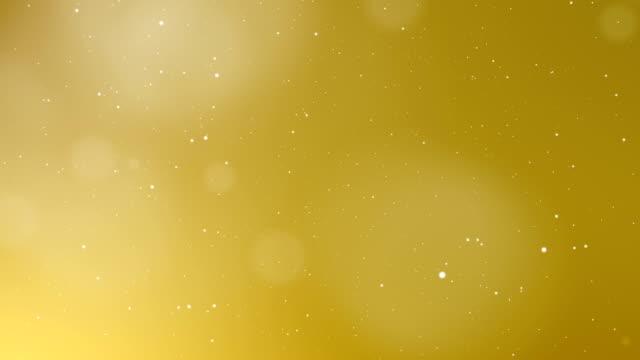 Oro de lujo abstracta de fondo con el elemento luz - vídeo
