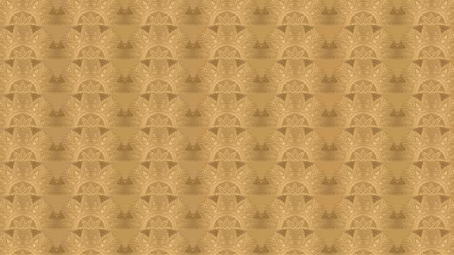 Luxury golden geometric pattern