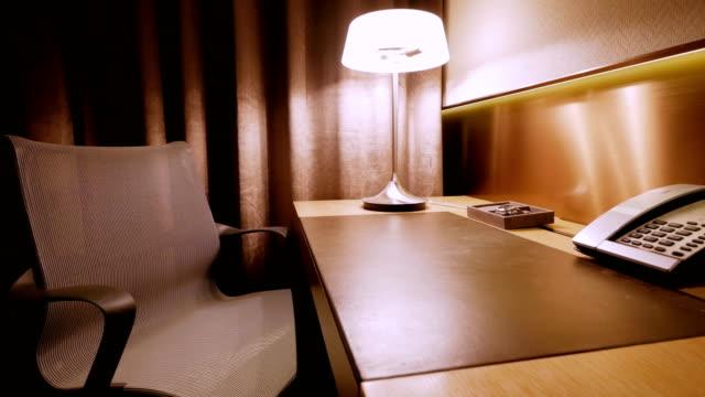 Luxury Hotel Room Interior video