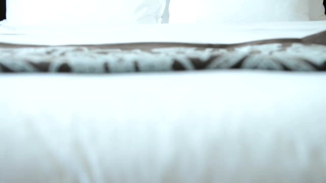 Luxury hotel room video