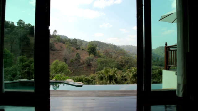 Luxury Hotel Suite, Swimming Pool, Nature video
