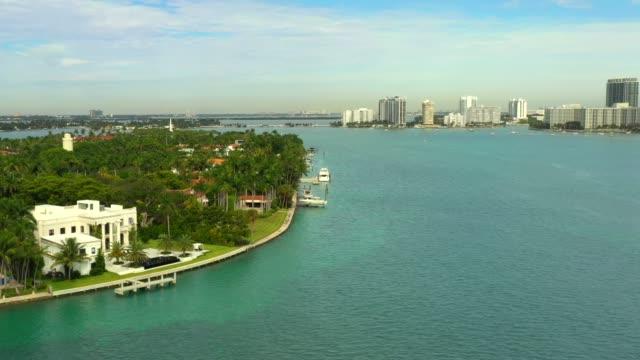 Luxury mansions in Miami Beach Florida