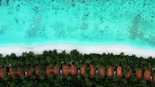 luxury resort in maldives ayada island - вилла стоковые видео и кадры b-roll