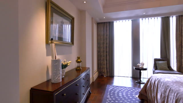 luxury sample living room interior and decorations, Real time. luxury sample living room interior and decorations, Real time. post modern architecture stock videos & royalty-free footage