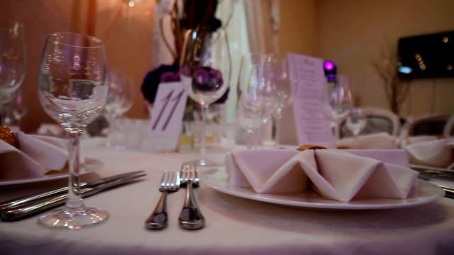 Luxury serving. video