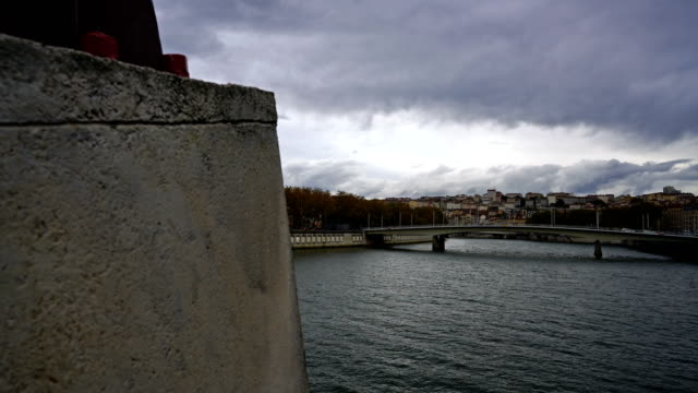 Lyon, France - Old District, Saone River, Saint-Georges
