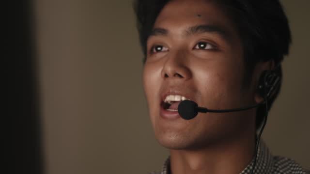 jag är redo att ta hand om dina problem. - affärskonferens bildbanksvideor och videomaterial från bakom kulisserna