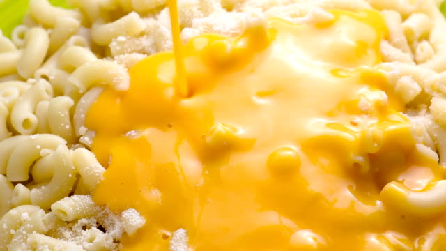 Macaroni Macaroni and Cheese cheese stock videos & royalty-free footage