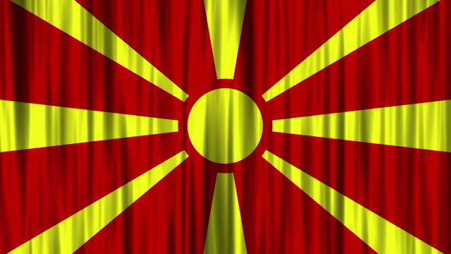Macedonian National Flag (Loopable)