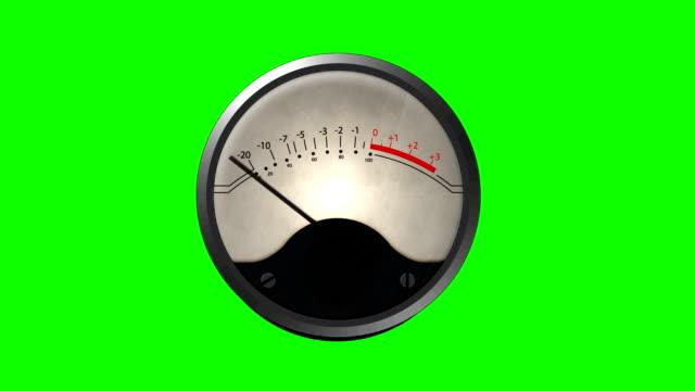 maskinen barometer ringer på en grön skärmbakgrund - barometer bildbanksvideor och videomaterial från bakom kulisserna