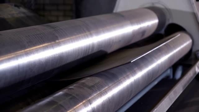 Machine bending sheet metal video