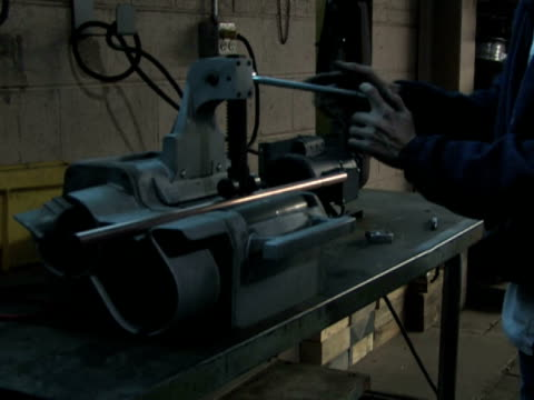 Machine Cutting Pipe video