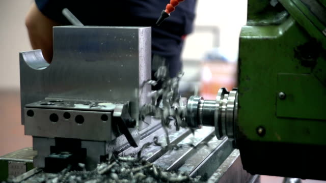 CNC machine drill
