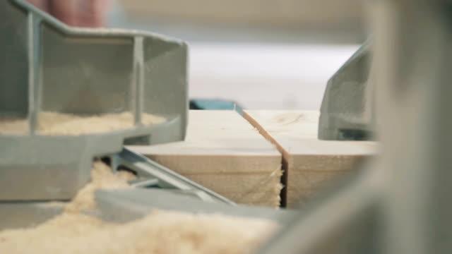 Machine Electronic Table Saw, Wood Work. video