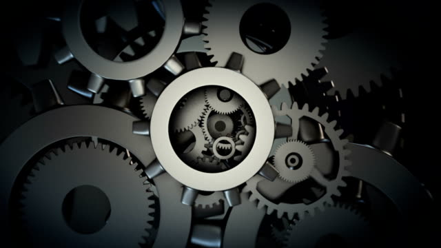 machine gear wheel - abstract art stock videos & royalty-free footage
