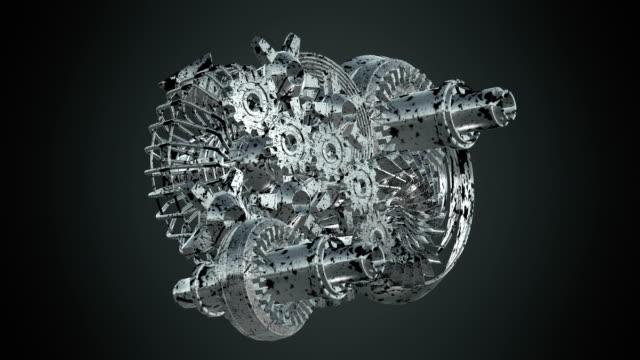 maskinen växlar roterande - växelspak bildbanksvideor och videomaterial från bakom kulisserna